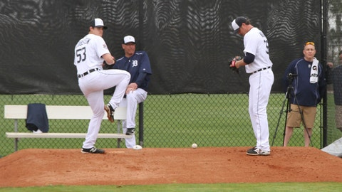 Day 2 of Tigers' full-squad workouts
