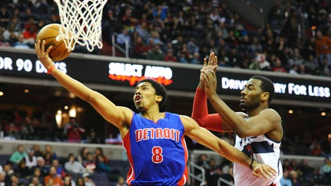 Dinwiddie earns promotion to Pistons' No. 2 point guard