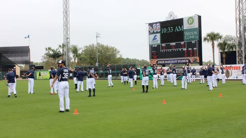 Tigers spring training 3.2.15