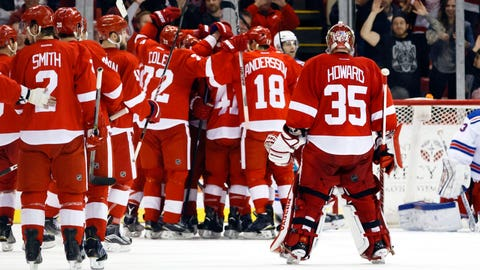 Gave: Wings ride wave of remarkable consistency toward 24th straight postseason