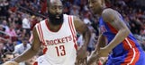 On night that evoked Wilt's weak side, Harden shows his strength