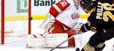 Short-handed goals doom Wings in 5-3 loss at Boston