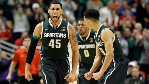 MSU rallies past Maryland to reach Big Ten final