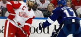 Wings limp home after offense absent in loss to Tampa Bay