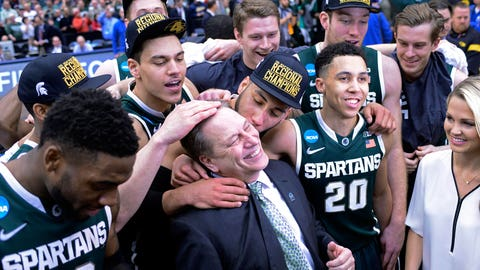 Spartans to Final Four after 76-70 OT win over Louisville