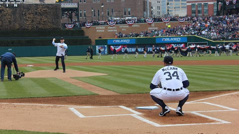 Tigers Opening Day 2015
