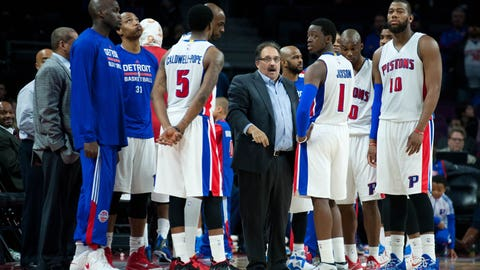 Despite losing season, Pistons in good position moving forward under Van Gundy