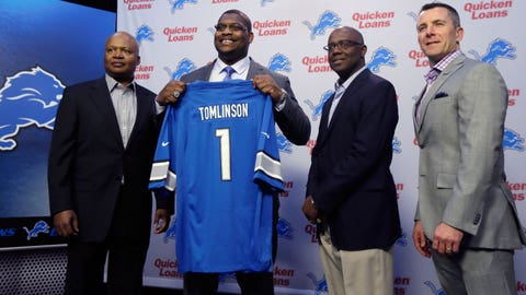 Mayhew tweaked strategy, addressed Lions' needs in NFL Draft