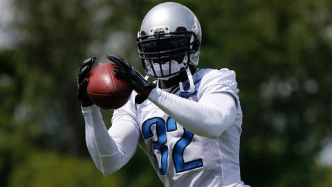 Ihedigbo attends Lions' OTAs despite contract issue