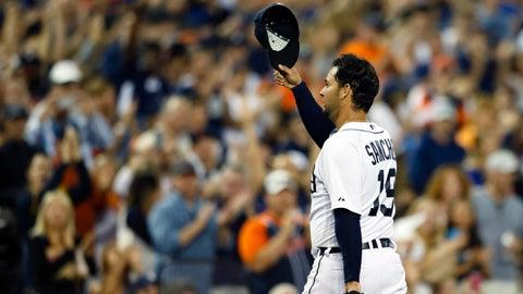 Sanchez helps Tigers top Jays 8-6