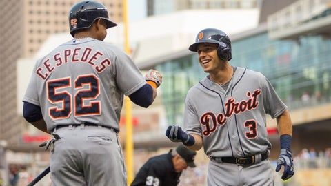 Kinsler, Price lead Tigers to 4-2 win over Twins