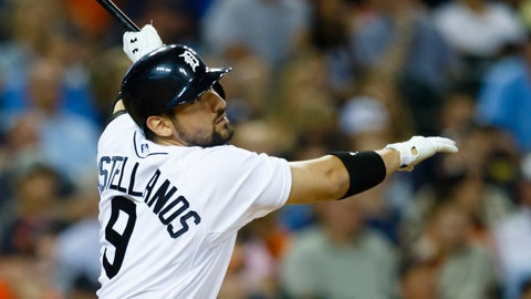 Castellanos' grand slam lifts Tigers to 9-4 win over Seattle