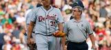 Tigers starter Simon injures groin