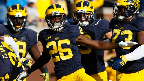HAPPY: Wolverines ballin' heading into showdown with MSU