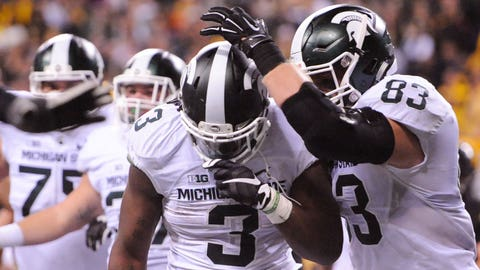 Spartans earn Big Ten title, likely playoff spot with gutsy final drive