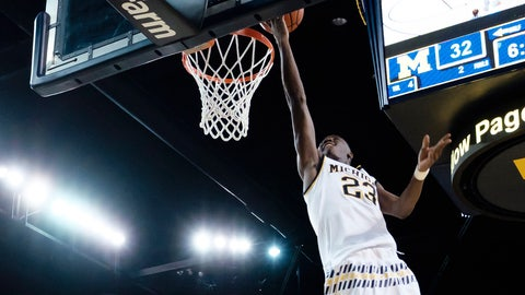 Caris LeVert's triple-double leads Michigan past Northern Kentucky