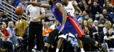 Pistons lose battle in paint, game to Pelicans