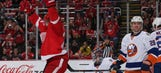 Red Wings rout Islanders 5-1 for first home win of 2016