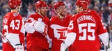 Red Wings storm past Avalanche on late goal by Richards