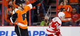 Red Wings edged by Flyers in key game for playoff standings