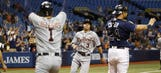 Tigers score eight in the 9th inning in epic comeback to shock Rays