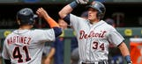 McCann powers Norris, Tigers past Twins 8-5
