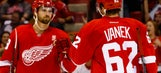 Red Wings put Vanek on long-term IR, recall Bertuzzi