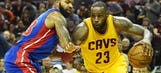 Pistons get routed in Cleveland 104-81