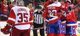 Undermanned Capitals edge Red Wings 1-0 with third-period goal