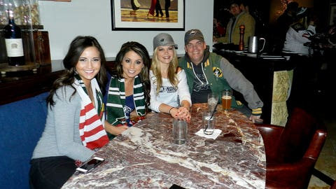 Stops on the Minnesota Wild Pub Crawl included Kincaid's, Wild Tymes, Eagle Street Grill, and The Liffey.