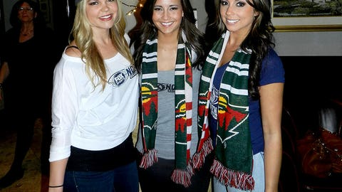 Kendall, Angie & Kaylin hosted the Minnesota Wild Pub Crawl on February 27th in downtown Saint Paul.