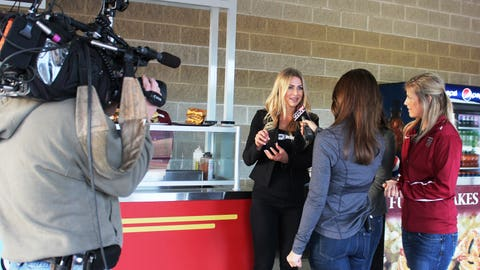 Chyna shares the scoop on some of the foods she's eager to try at Brewers Opening Day.