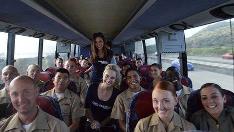 Camp Pendleton #FanExpress Trip