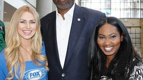 Bishara & Chyna caught up with Bucks great Bob Dandridge who was on site to help celebrate the new logos.