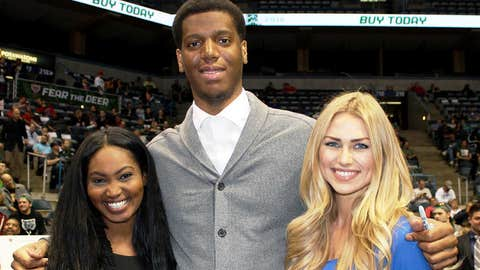 He's part of the Bucks future. The FOX Sports Wisconsin Girls can't wait to see Damien Inglis hit the court next season.