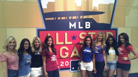FOX Sports Girls from across the country are taking in the sights and sounds of Minneapolis during All-Star week.