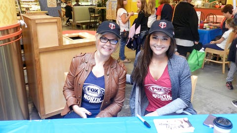The FOX Sports North Girls attended Twins Day at the Market, an event celebrating diversity in our community.