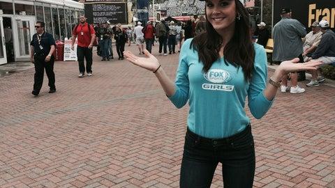 The FOX Sports Girls at Daytona - Day 2