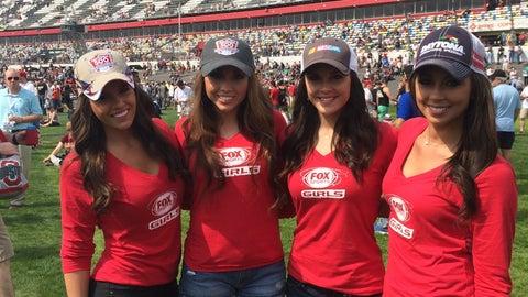 The FOX Sports Girls at Daytona - Day 3