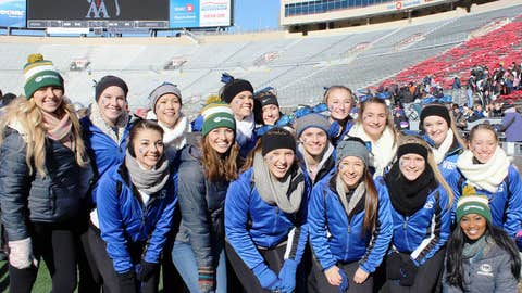 Waukesha West's spirit team & the FOX Sports Girls are ready for the Division 2 WIAA State Championship Game.