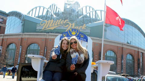 Opening Day is an unofficial holiday in Wisconsin & the FOX Sports Wisconsin Girls were psyched to celebrate with fans.