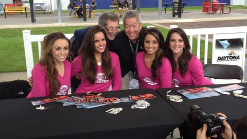 The FOX Sports Girls at the Daytona 500 - Day 1