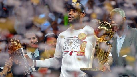 Miami Heat, LeBron James win again