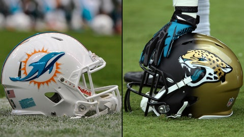 Dolphins, Jaguars get new looks