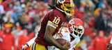 RG3 operating as Cam Newton on Redskins' scout team