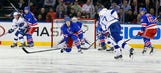 Lightning double up early in 2nd to take down Rangers