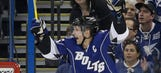 Marty St. Louis ties Lightning record with four goals vs. Sharks