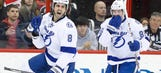 Mark Barberio scores first career goals as Lightning top Hurricanes