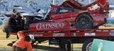 Gidley, Malucelli taken to hospital after Daytona crash