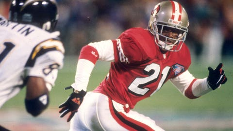 CB: Deion Sanders, Cowboys/49ers